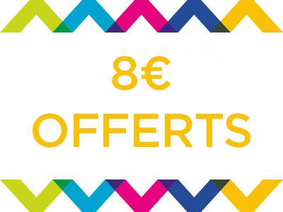 8€ offerts sur CasinoDrive