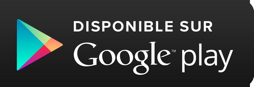 Disponible dès maintenant sur Google play